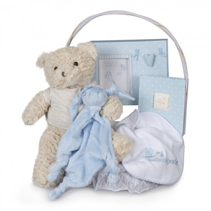 Newborn Baby Hamper & Baby Gift Baskets | BebedeParis South Africa Memories Essential Baby Gift Basket
