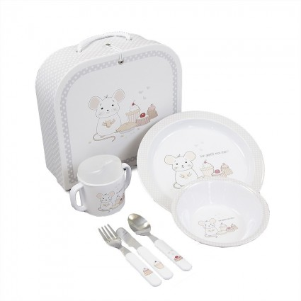 Personalised Baby Gifts South Africa | BebedeParis Baby Gifts First Baby Dish Set