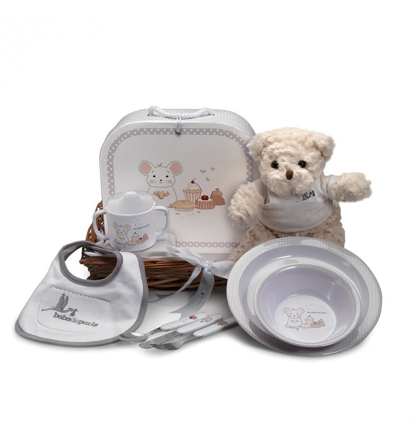 Newborn Baby Hamper & Baby Gift Baskets | BebedeParis South Africa Essential tableware basket