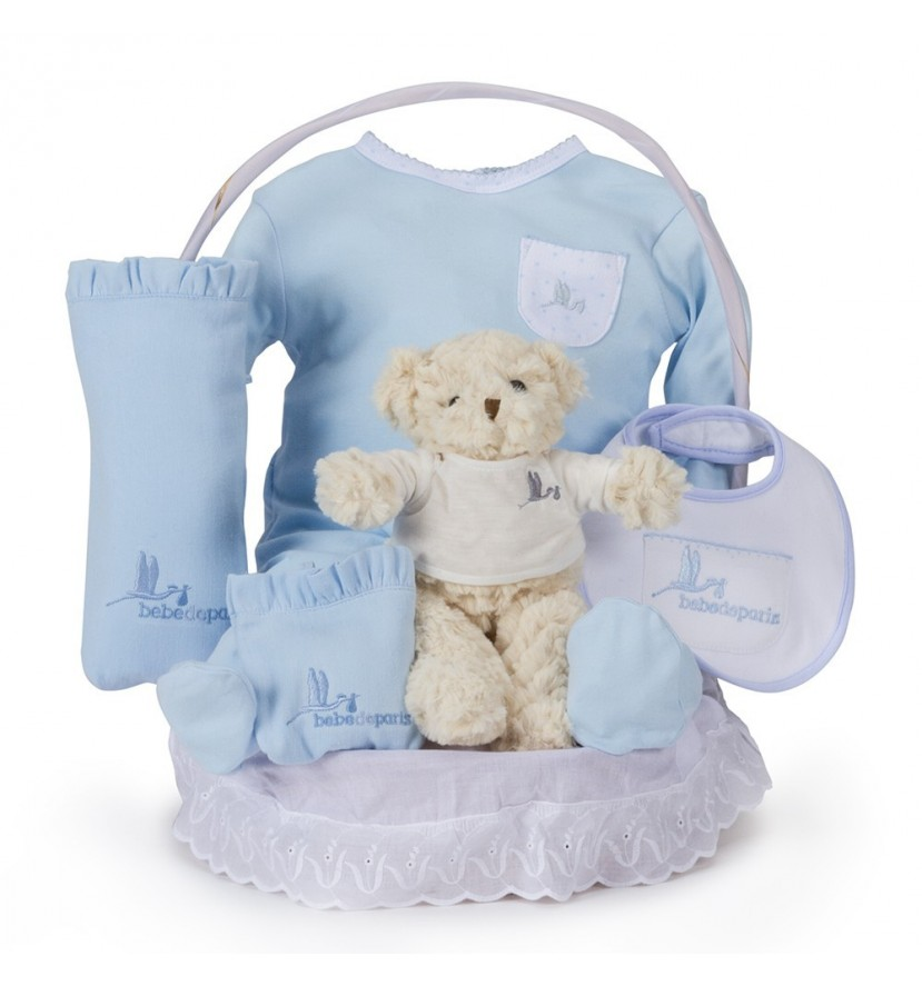 Newborn Baby Hamper & Baby Gift Baskets | BebedeParis South Africa Classic Essential Baby Gift Basket