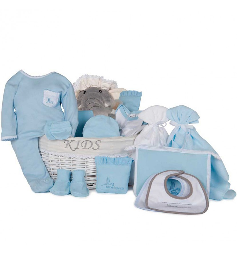 Newborn Baby Hamper & Baby Gift Baskets | BebedeParis South Africa Complete Post-Hospital Baby Gift Basket