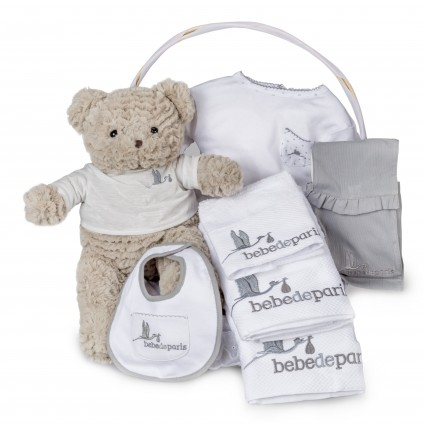Newborn Baby Hamper & Baby Gift Baskets | BebedeParis South Africa Essential Bathtime Baby Basket