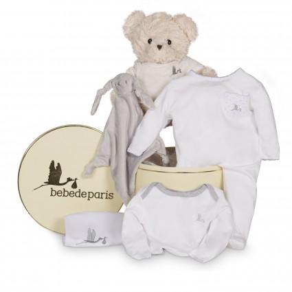 Casual Essential Baby Hamper Grau