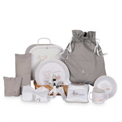 Newborn Baby Hamper & Baby Gift Baskets | BebedeParis South Africa Complete Tableware Basket