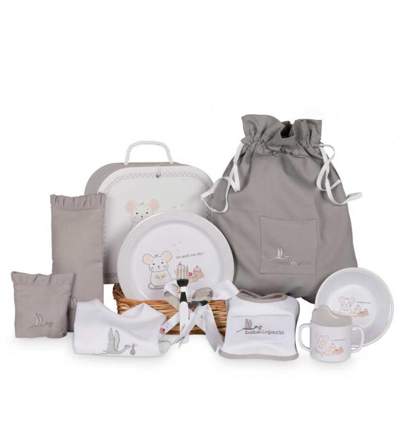Newborn Baby Hamper & Baby Gift Baskets | BebedeParis South Africa Complete Tableware Basket
