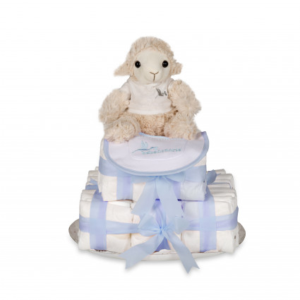 Buy Best Nappy Cakes Online | BebedeParis Baby Products South Africa Biscuit Nappy Cake