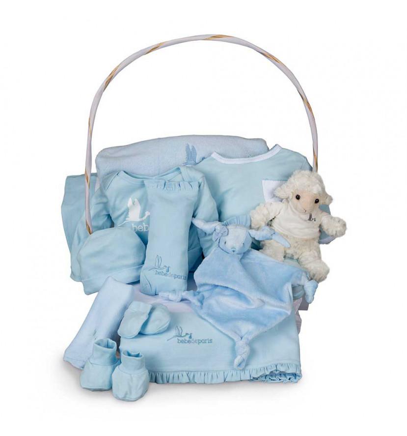 Newborn Baby Hamper & Baby Gift Baskets | BebedeParis South Africa Deluxe Serenity Baby Gift Basket