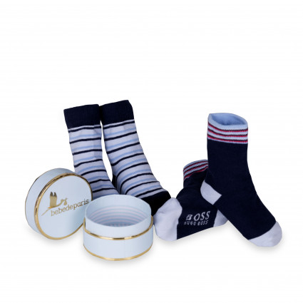 Best Baby Shower Gifts Online Store| BebedeParis South Africa Hugo Boss Baby Socks Set
