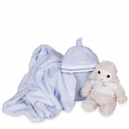 Hugo Boss Baby Knotted Beanie Hamper