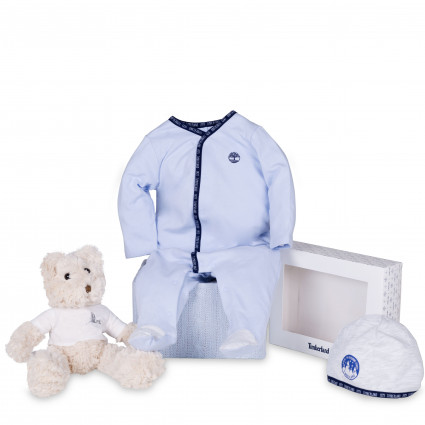 Home Timberland Baby Pyjama and Hat Set