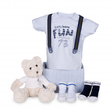 Newborn Baby Hamper & Baby Gift Baskets | BebedeParis South Africa Timberland Baby Fun Hamper