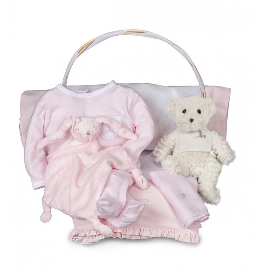 Newborn Baby Hamper & Baby Gift Baskets | BebedeParis South Africa Essential Serenity Baby Gift Basket