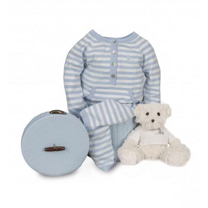 Newborn Baby Hamper & Baby Gift Baskets | BebedeParis South Africa Happy Stripes Baby Hamper