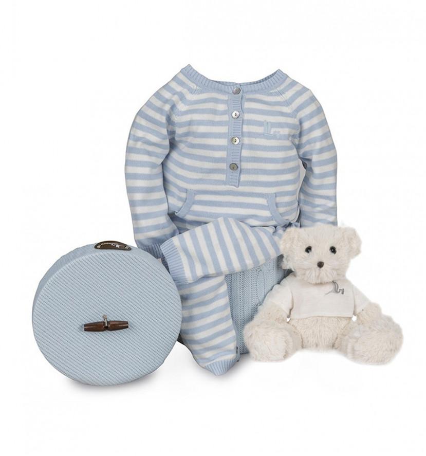Newborn Baby Hamper & Baby Gift Baskets   BebedeParis South Africa Happy Stripes Baby Hamper