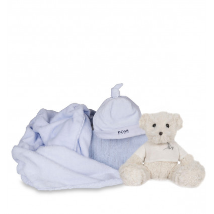 Newborn Baby Hamper & Baby Gift Baskets | BebedeParis South Africa Hugo Boss Beanie Baby Gift Hamper