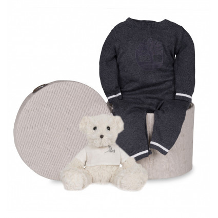 Newborn Baby Hamper & Baby Gift Baskets | BebedeParis South Africa Timberland Baby Luxury Grey Hamper