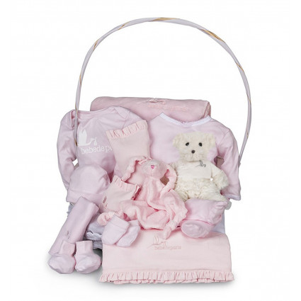 Newborn Baby Hamper & Baby Gift Baskets | BebedeParis South Africa Complete Serenity Baby Gift Basket