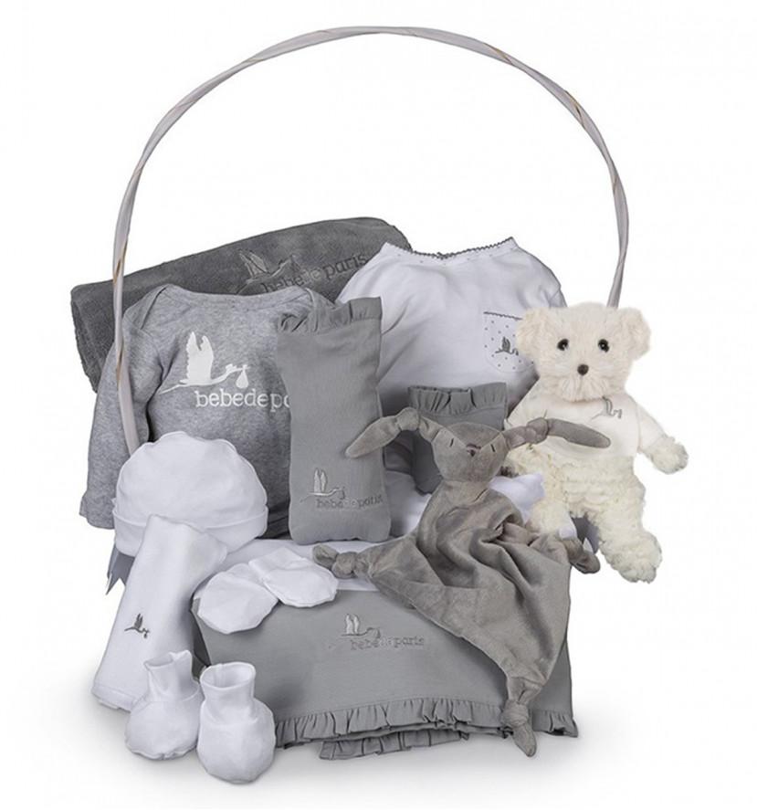 Newborn Baby Hamper & Baby Gift Baskets | BebedeParis South Africa Complete Serenity Baby Gift Basket
