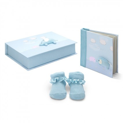 Personalised Baby Gifts South Africa | BebedeParis Baby Gifts  Elephant Baby Gift Set