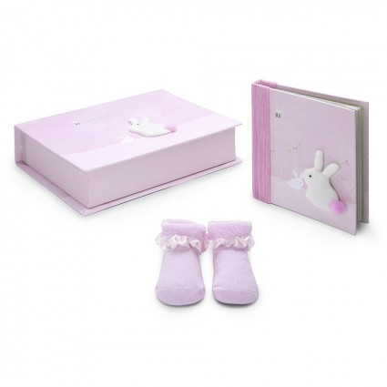 Personalised Baby Gifts South Africa | BebedeParis Baby Gifts  Rabbit Baby Gift Set