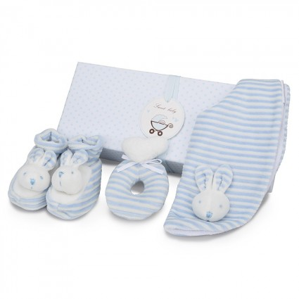 Personalised Baby Gifts South Africa | BebedeParis Baby Gifts Bunny Baby Gift Set